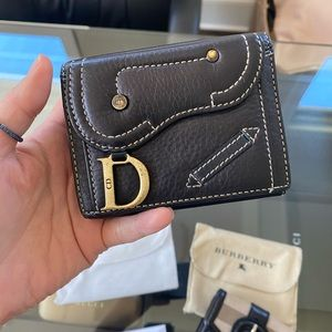 Christian dior wallet(used)